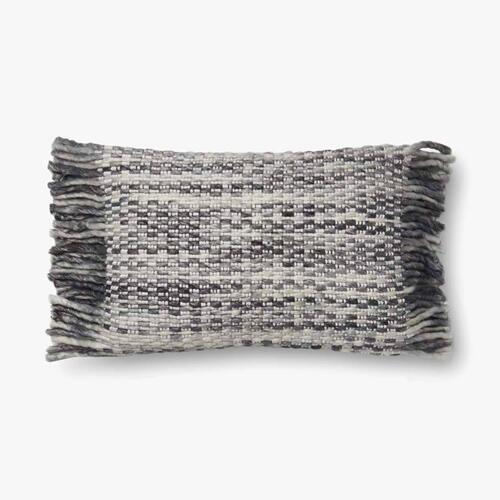 P0635 Ivory / Grey Pillow
