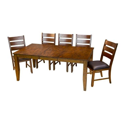 A America - Rectangular Butterfly Table