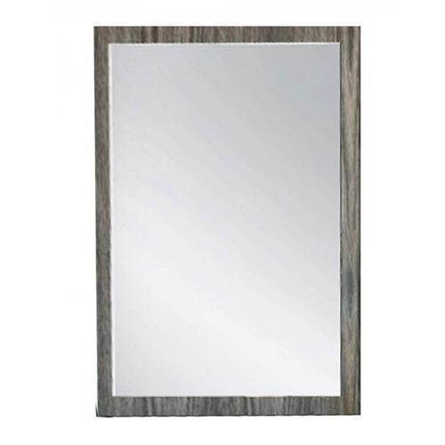 Nova Domus Asus - Italian Modern Elm Grey Mirror