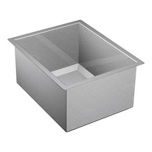 "1600 Series 16""x20"" stainless steel 16 gauge single bowl sink Product Image"