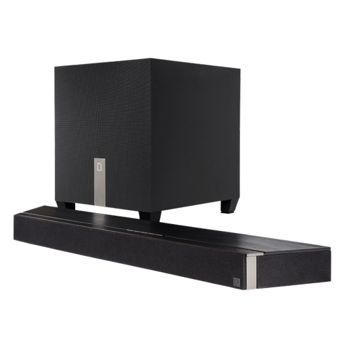Definitive Technology - Ultra-Compact Sound Bar with Dolby ATMOS and HEOS Music Streaming