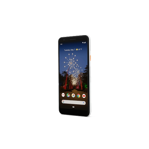 Pixel 3a XL (64GB, Clearly White)