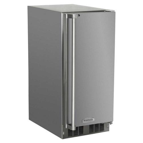 15-In Outdoor Built-In All Refrigerator with Door Swing - Right