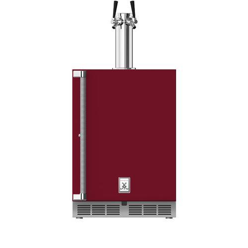 """24"""" Hestan Outdoor Double Faucet Beer Dispenser - GFDS Series - Tin-roof"""
