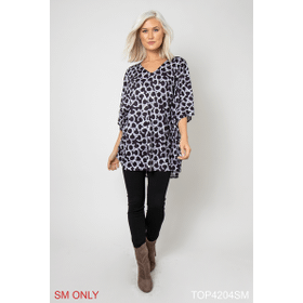 Unchained Printed Knit Tunic - S/M (4 pc. ppk.)