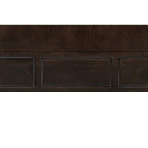 A.R.T. Furniture - Lawrence Wood & Upholstered California King Bed Dark Cherry