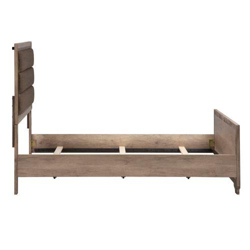 Queen Uph Panel Headboard & Footboard