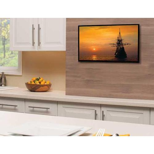 """Product Image - Black Premium Series Fixed-Position Mount for 13"""" - 39"""" flat-panel TVs up 50 lbs."""