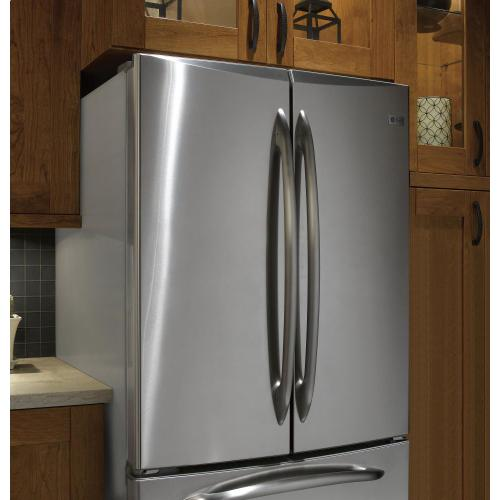 GE Profile - GE Profile 24.9 Cu. Ft. French-Door Refrigerator with Icemaker