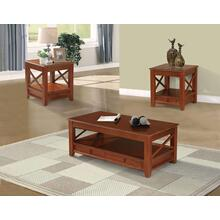 Yul 3pc Coffee Table Set