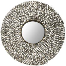 See Details - Jeweled Chain Mirror - Natural