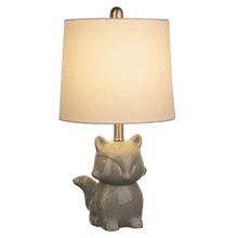 Grey Fox Accent Lamp. 40W Max.