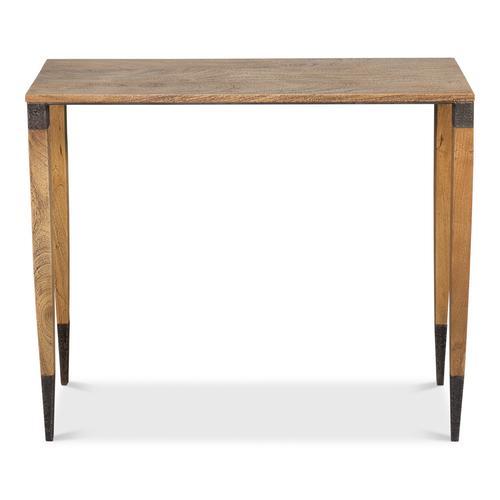Saber Leg Console Table