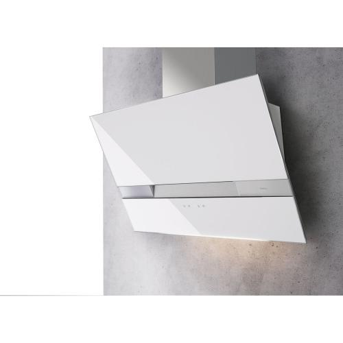 Wave Wall 90 CM, White Glass, Body Only