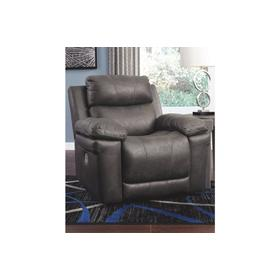 Erlangen PWR Recliner/ADJ Headrest Midnight