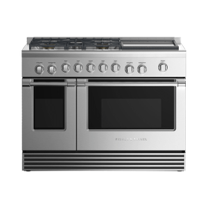 """Fisher & PaykelGas Range, 48"""", 5 Burners with Griddle"""