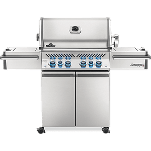 Napoleon BBQPrestige PRO 500 RSIB with Infrared Side and Rear Burners , Stainless Steel , Natural Gas