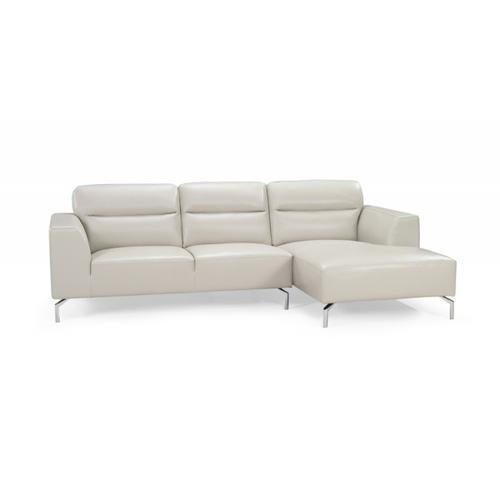 Divani Casa 0881 Modern Leather Sectional Sofa