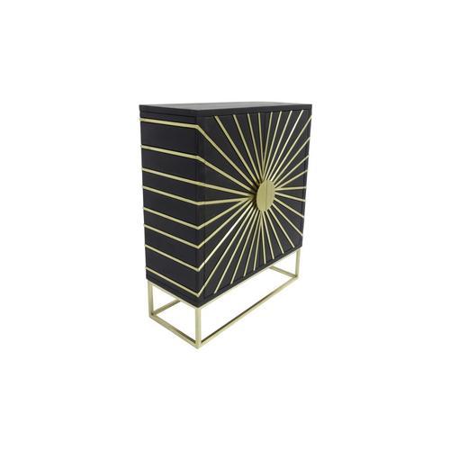 Porter International Designs - Blaze 2 Door Cabinet, 2612S