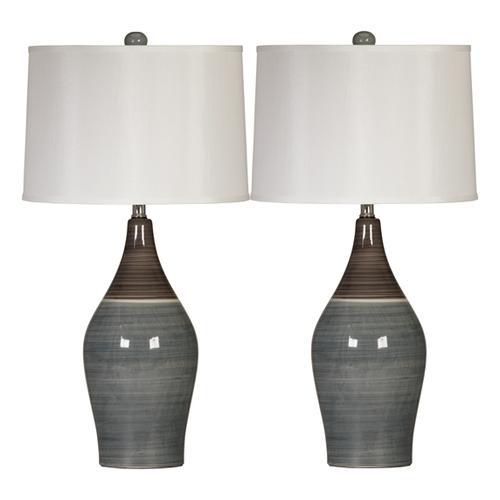 Signature Design By Ashley - Niobe Table Lamp (set of 2)