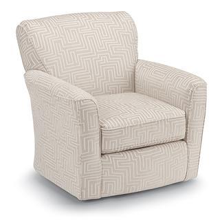 See Details - KAYLEE Swivel Barrel Chair