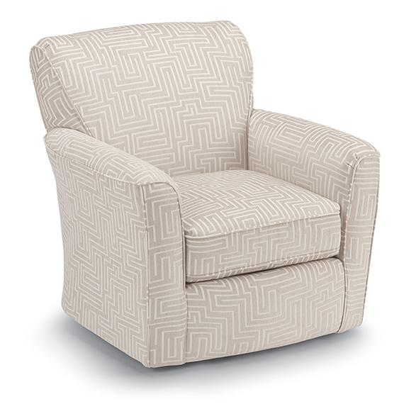 KAYLEE Swivel Barrel Chair