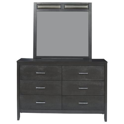 Delmar Dresser and Mirror