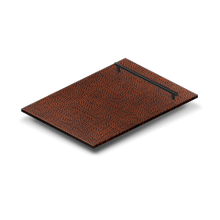 """18"""" Dishwasher Panel in Hand-Hammered Copper with Modern Handle (DP-HH-18)"""