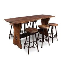 HH-8014  7 Piece Counter Height Pub Table Set