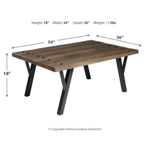 Signature Design By Ashley - Rectangular Cocktail Table