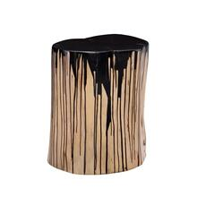 Stump Stool Black