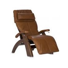 Perfect Chair ® PC-420 Classic Manual Plus - Walnut - Cognac Premium Leather