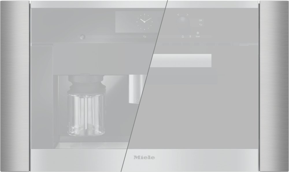 """EBA 6708 MC - Trim kit for 30"""" niche for installation of a coffee machine/microwave oven with 24"""" width x 18"""" height"""