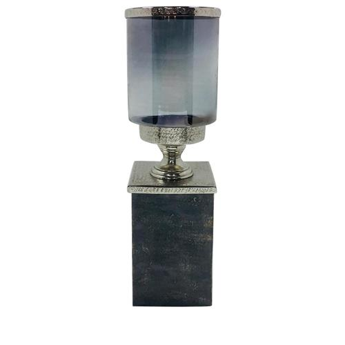 Crestview Collections - Large Gregory Hurricane on Textured Plinth Base