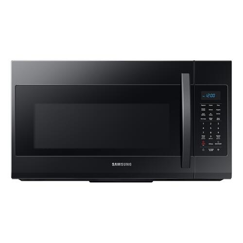 Samsung - 1.9 cu ft Over The Range Microwave with Sensor Cooking in Black