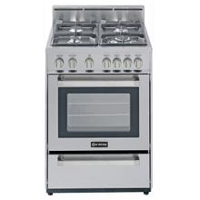 """See Details - Stainless Steel 24"""" Gas Range"""