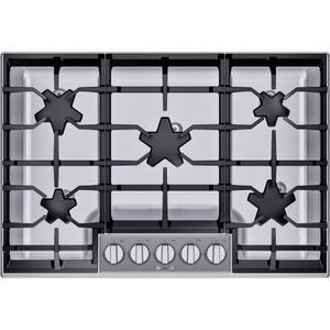 Thermador30-Inch Masterpiece® Pedestal Star® Burner Gas Cooktop