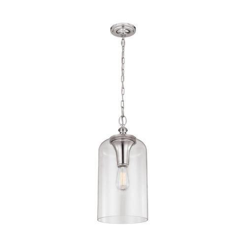 Hounslow Clear Glass Pendant Oil Rubbed Bronze