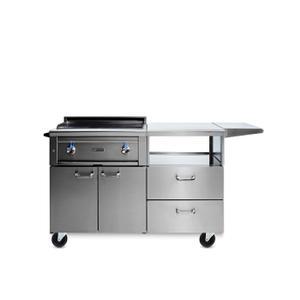 "Lynx30"" Asado Grill on Mobile Kitchen Cart LP"