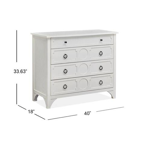 Accent Chest - White