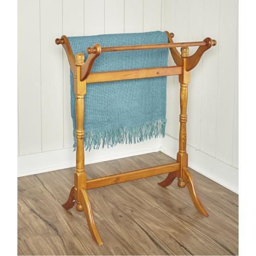 Blanket/quilt Rack, Nostalgic Oak