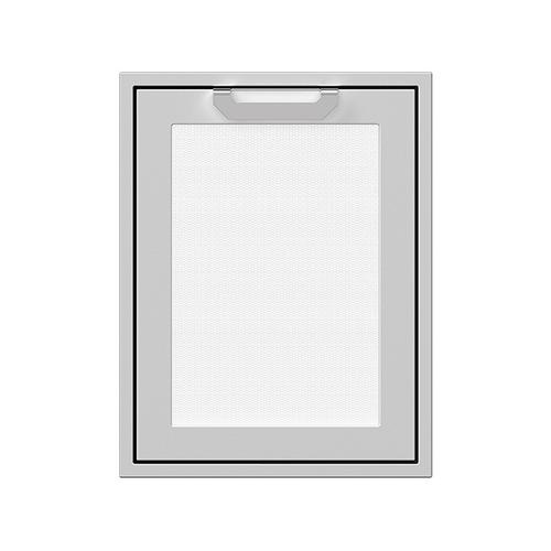 "Hestan - 20"" Hestan Outdoor Trash/Recycle Drawer - AGTRC Series - Froth"