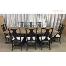 View Product - 5 Piece Trestle Table Set