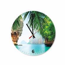 Phi Phi Island Round Square Acrylic Wall Clock
