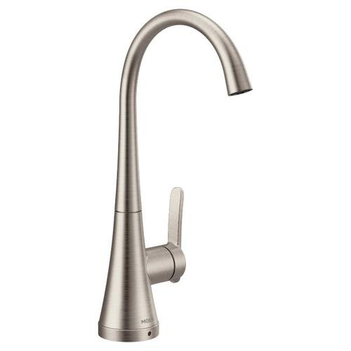 Moen spot resist stainless one-handle single mount beverage faucet