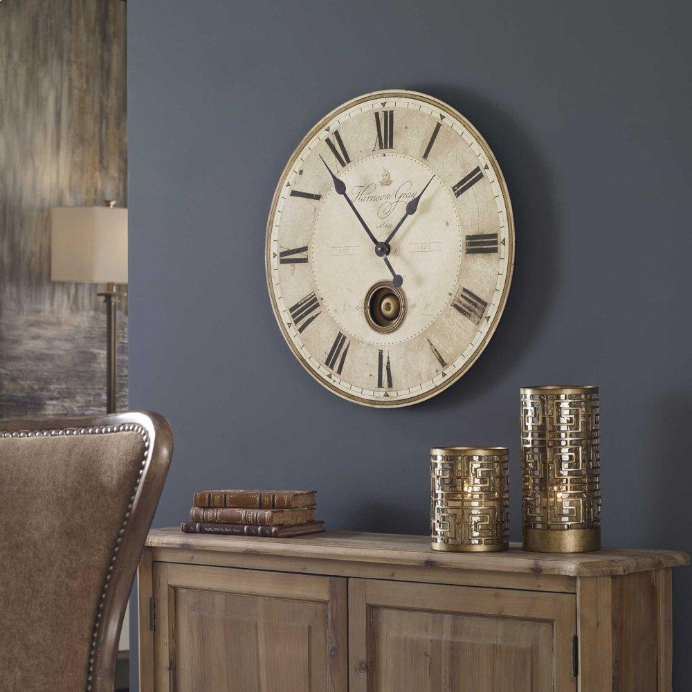 """See Details - Harrison Gray 23"""" Wall Clock"""