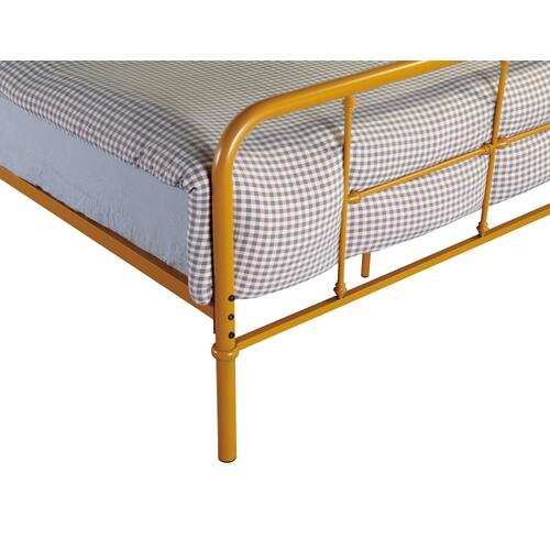 Emerald Home Fairfield Metal Bed Butterscotch B202-09hbfbrbrn
