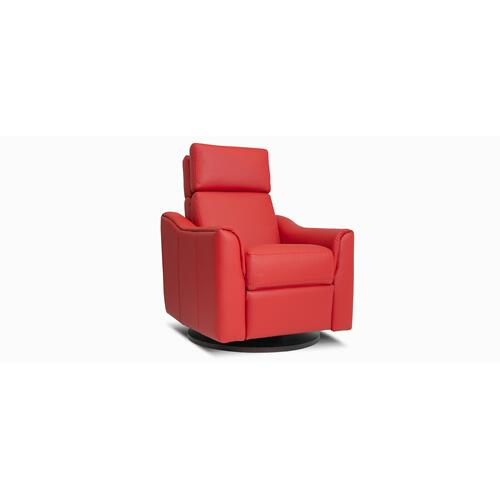 Jaymar - Leonardo Swivel and rocking motion chair (043; Wood base - Thé T37)