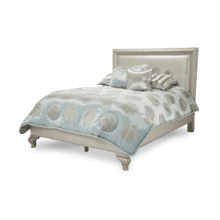 After Eight Studio Eastern King Bed (3 pc) Creamy Pearl
