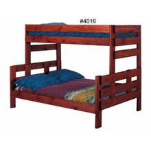 4016  Twin/Full Stackable Bunk Bed